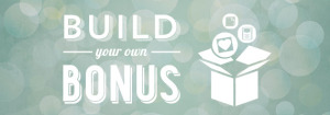 Build your own bonus banner