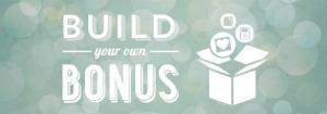 Build your own bonus banner