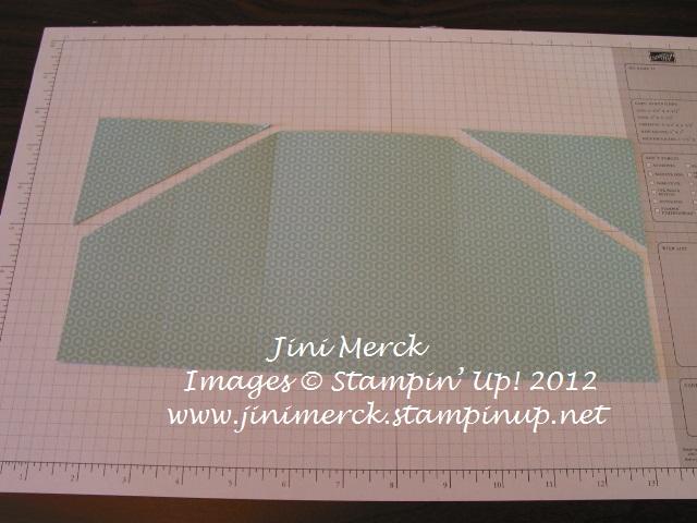 Double Fold Card Tutorial step 8