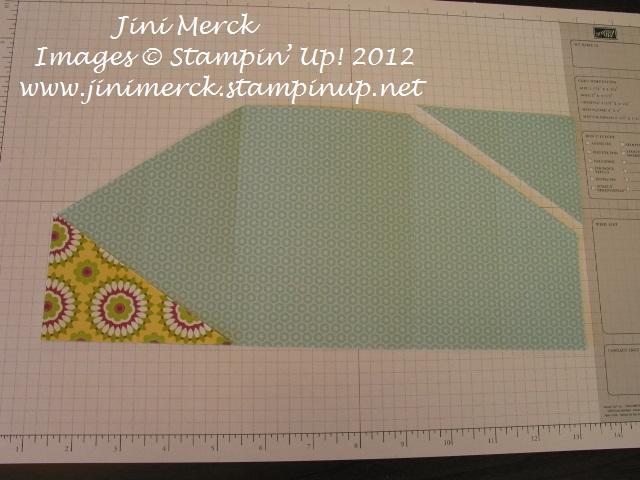 Double Fold Card Tutorial step 9
