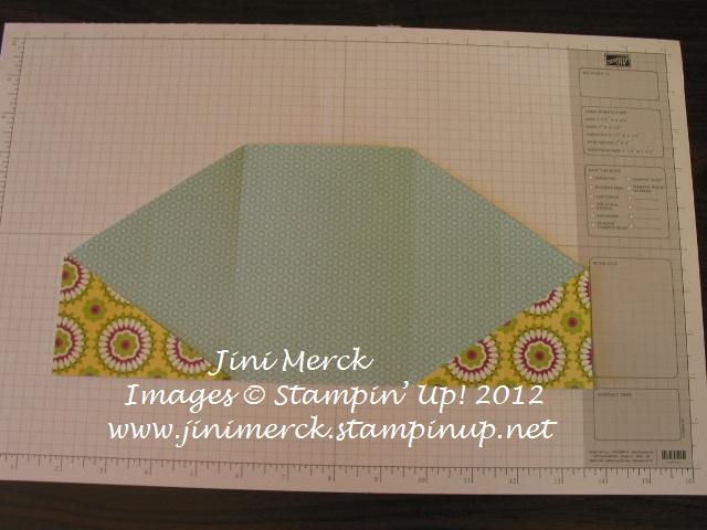 Double Fold Card Tutorial step 10
