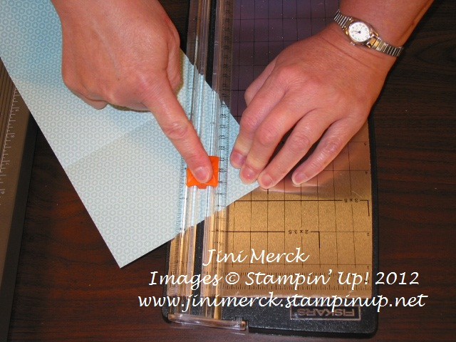 Double Fold Card Tutorial step 5