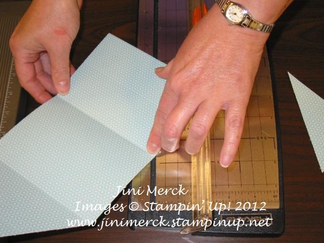 Double Fold Card Tutorial step 6