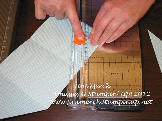 Double Fold Card Tutorial 7