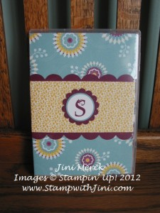 Personalized Notepad Holder