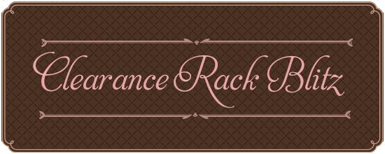 CLEARANCE RACK BLITZ BANNER