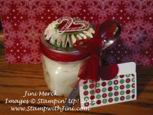 Peppermint Stick sugar scrub gift exchange 2012