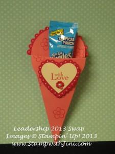 Petal Cone Die Valentine Treat