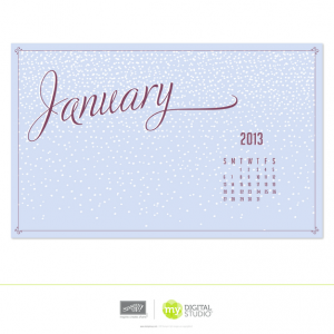 Let It Snow January Wallpaper MDS FREE download