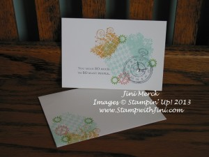 Hostess Appreciation Note Card Set 2013 (2)