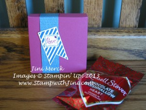 Valentine Treat Box for Johnathan