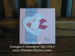 Valentine Treat Box for Kaitlin