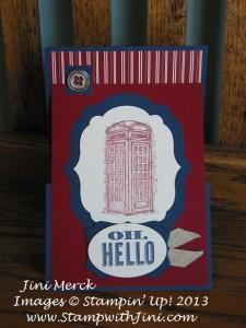 Feeling Sentimental zfold card