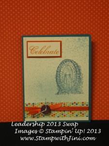 Leadership 2013 Shoebox Swap Dana Mosley