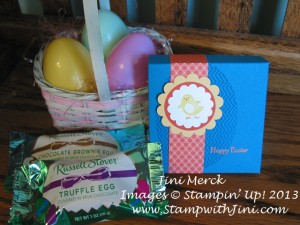 Spring Sampler Box with Chocolate