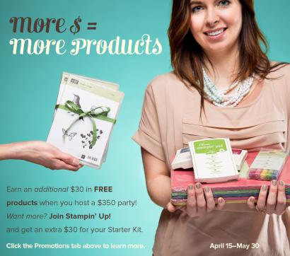 April hostess promotion image