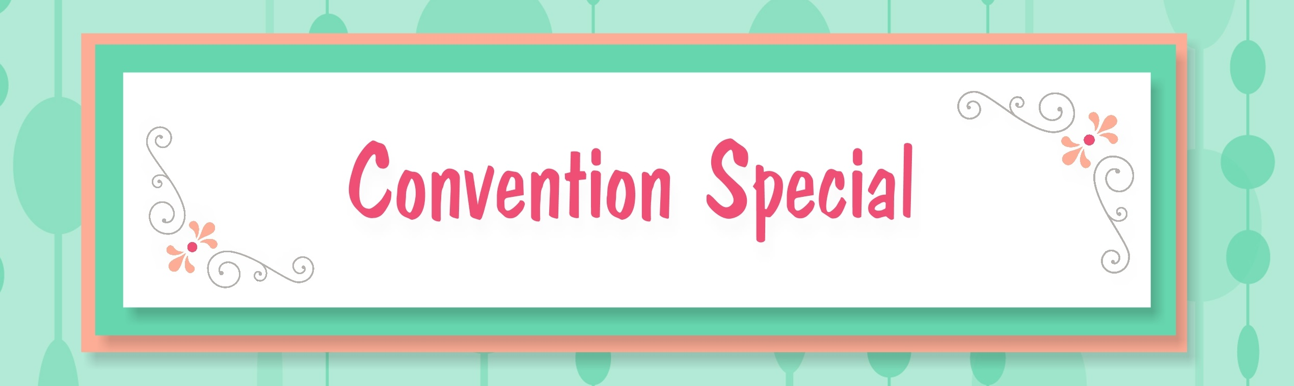 convention special banner