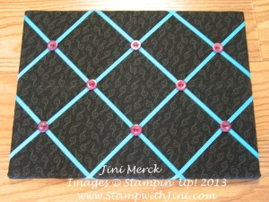French Memo Board w buttons