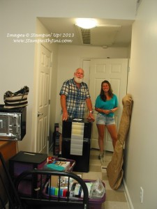 Kaitlin College Move In