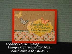 Papillion Potpourri Leadership 2013 Shoebox Swap