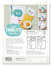 Thinlits Card Flyer Image