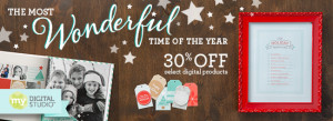 My Digital Studio 30% Off banner