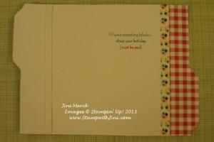 File Folder Card #1 inside