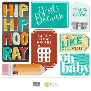 MDS Hooray for Tags Designer template
