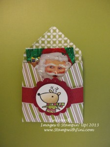 Color Me Christmas Envelope Treat Pouch