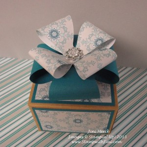Fancy Gift Box Bow