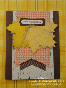 Thankful tablescapes Simply Created Kit