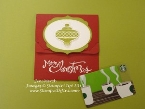 Christmas Collectibles Pop 'n Cuts Gift Card Holder (1)