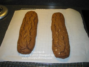 Helen's Chocolate-Almond Biscotti