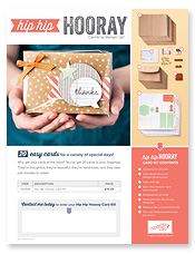 Hip Hip Hooray Kit Flyer Image