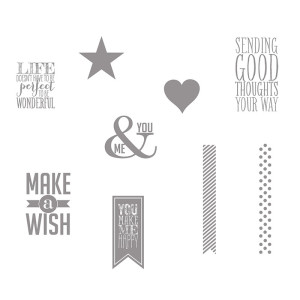 Perfect Pennants Stamp Brush Set MDS