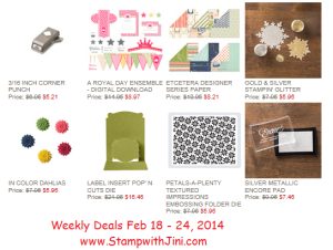 Weekly Deals Feb 18 2014