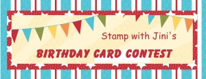 Birthday Card Contest banner