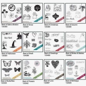 Image of all Best of stamp sets