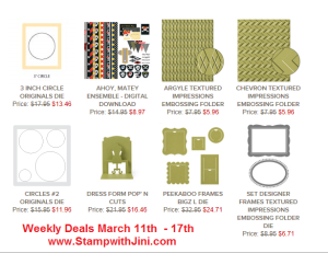 Weekly Deals March 11 2014