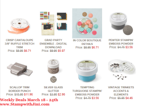 Weekly Deals March 18 2014