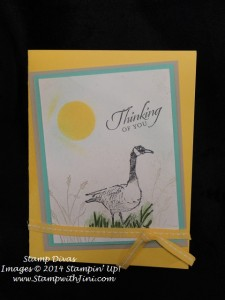 Wetlands Stamp Divas Swap March 2014 Bonnie