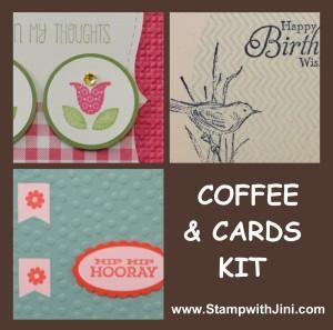 Coffee & Cards Kit - April 2014