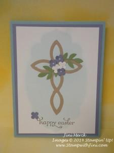 Delightful Dozen Easter Cross