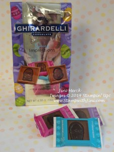Ghirardelli Chocolate Spring Pop 'n Cuts Easter Treat
