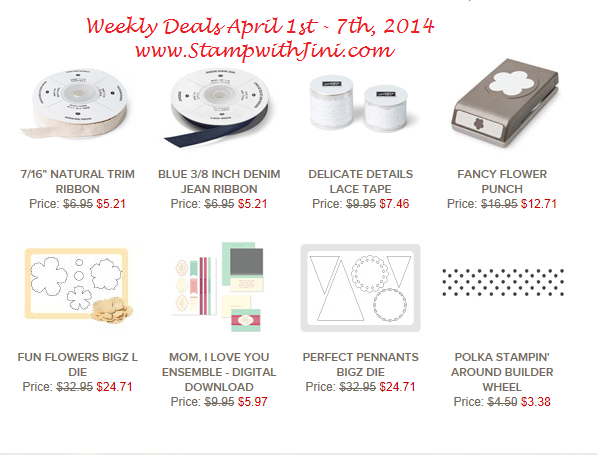 Weekly Deals April 1 2014