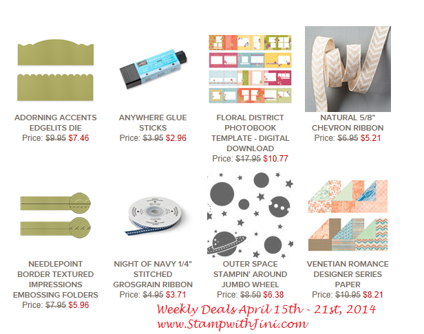 Weekly Deals April 15 2014