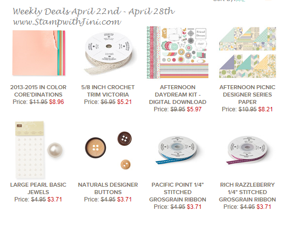 Weekly Deals April 22 2014
