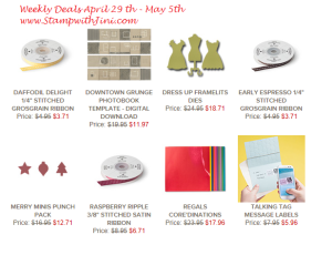 Weekly Deals April 29 2014