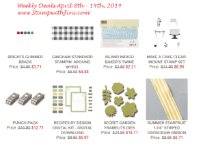 Weekly Deals April 8 2014