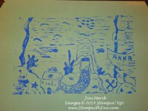 linoleum carving Print  (1)